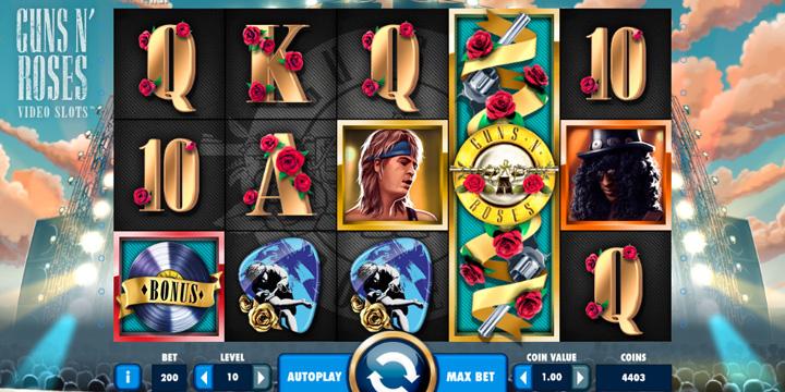 Guns N' Roses casinos en ligne
